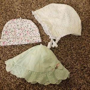 Baby Girl Hats Bundle